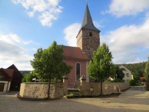 Harsdorf Kirche aussen