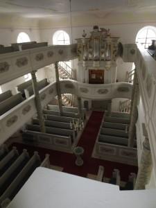 Harsdorf Kirche innen